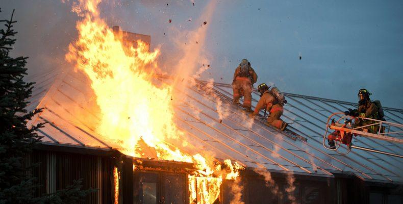 O que fazer em um incêndio