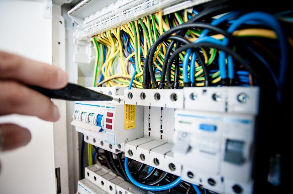 Imagem usada para representar instalações elétricas residenciais